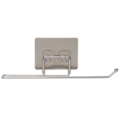 LHbox Tap Toallero toallitas Desechables Relacionados Toalla bastidores paño de Cocina baño Titular Toalleros, Gris