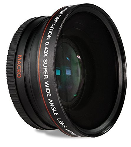 HDStars 58MM 0.43x Wide Angle Conversion Lens