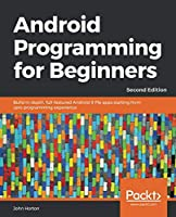 Android Programming for Beginners, 2nd Edition Front Cover