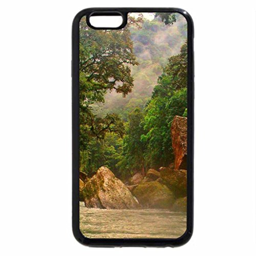 iPhone 6S Case, iPhone 6 Case (Black & White) - Platano River Biosphere Reserve