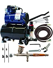 Paasche Airbrush Set and Compressor with Tank