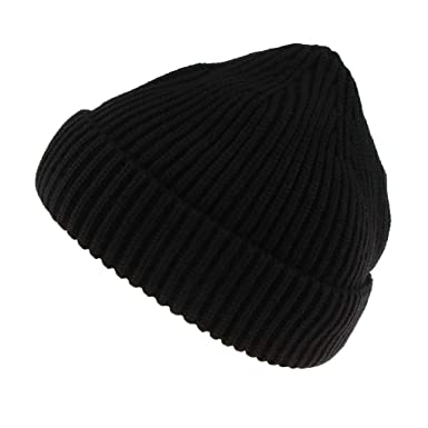 c1d4a741cfa F Fityle Ladies Men Stylish Knit Hat Beanie Skullcap Sailor Cap Cuff  Brimless Retro Skateboard -