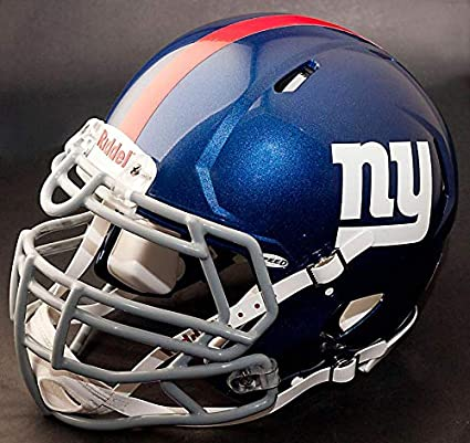 947223f9 Amazon.com : Riddell New York Giants NFL Gameday Replica Football ...