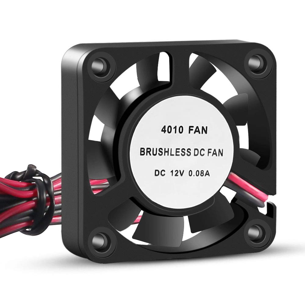 40mm Fan 5V USB Brushless DC Cooling Fan 4 Pack Speed 4200 RPM Fan for Small Appliances Series Replacement