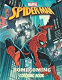 SPIDER-MAN HOMECOMING COLORING BOOK: spiderman