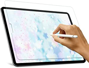 Like Paper Screen Protector for iPad Air 4 (10.9 inch, 2020)/ iPad Pro 11 (2020 & 2018), Homagical Matte PET Like Paper Screen Protector for iPad Pro 11/iPad Air 10.9,Compatible with Apple Pencil