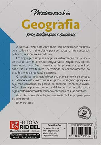 Livro: Minimanual de Geografia. Enem, Vestibulares e Concursos 2