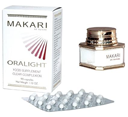 makari Clear máx Strength Acne Treatment acnyl Cream, Skin Care 100 ml + oralight Hyper