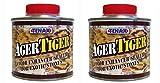 Tenax Tiger Ager Color Enhancing Granite Sealer, Marble & Stone Sealer - 1/4 Liter (Pack of 2)