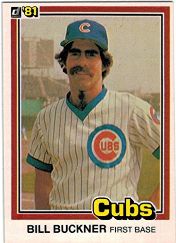 1981 Donruss Chicago Cubs Team Set with Bill Buckner & Dave Kingman - 22 Cards