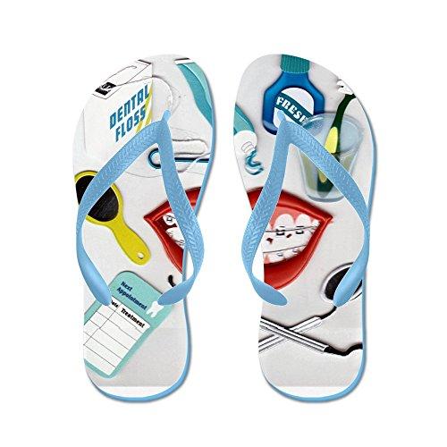 Cafepress Dentist.jpg - Flip Flops, Roliga Rem Sandaler, Strand Sandaler Caribbean Blue