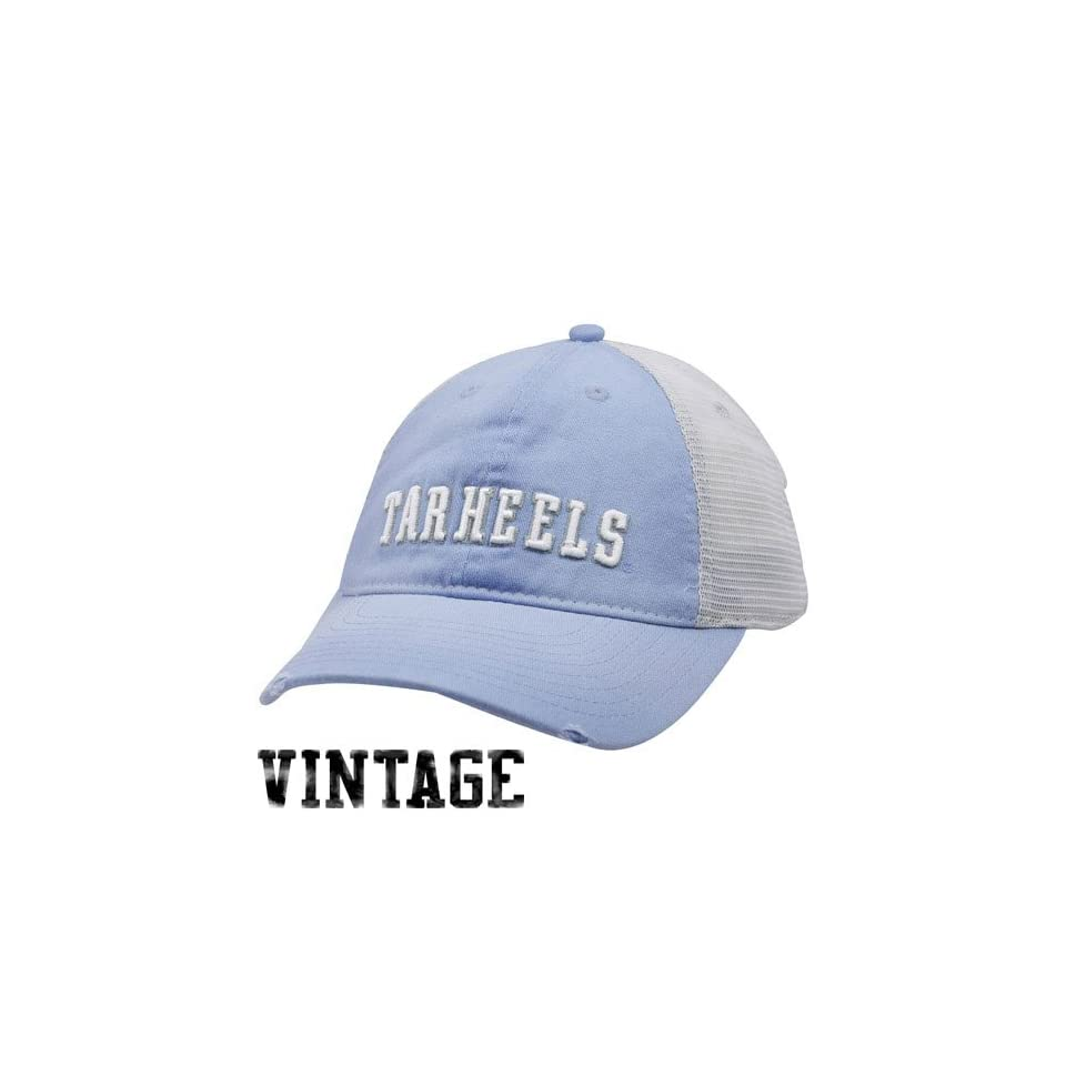 NCAA Nike North Carolina Tar Heels (UNC) Youth Carolina Blue Washed Trucker Hat