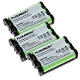 3x Floureon Ni-mh Cordless Phone Batteries for Uniden Bt-0003, Office Central