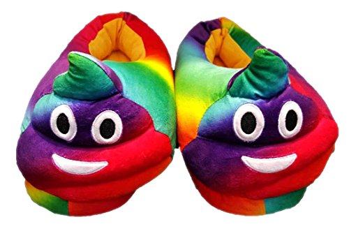 Slippers Poop Qualty Rainbow High Emoji TqnOwxB1