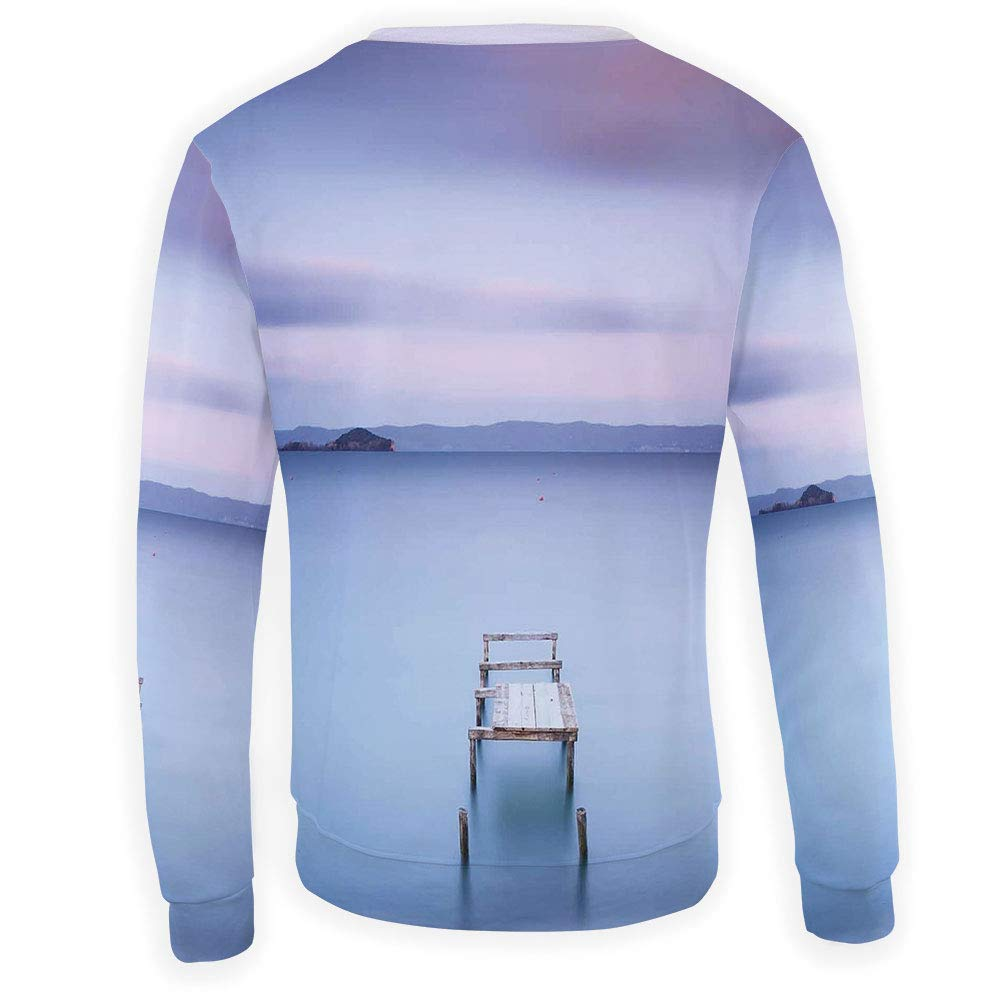 MOOCOM Adult Landscape Crewneck Sweatshirt