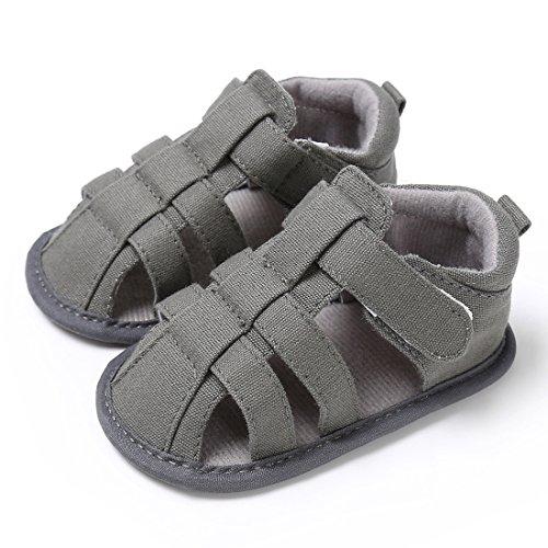 Sandals Walker (Kimber Baby Boys Girls Sandals Anti-Slip First Walker (13cm/5.12
