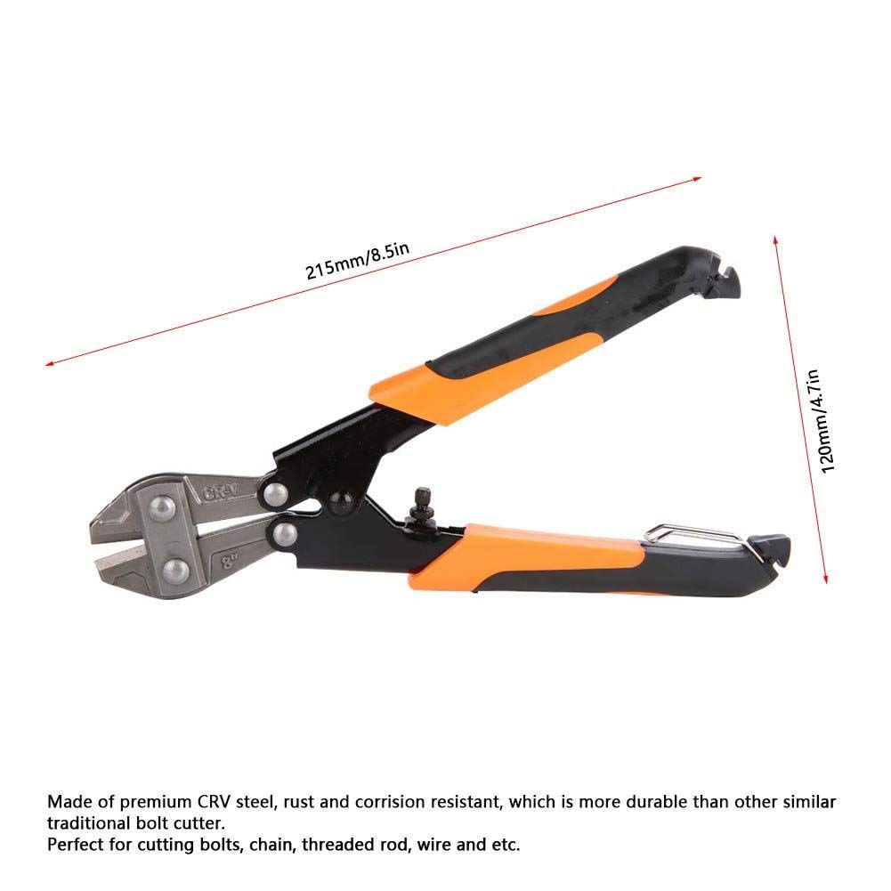 Chain Threaded Rod Durable Bolt Cutter Sturdy for Cutting Bolts Rust Resistant Corrision Resistant Cable Pliers Wire