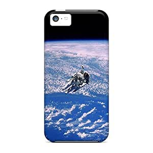 Durable Protector Case Cover With Space Man Hot Design For Iphone 5c