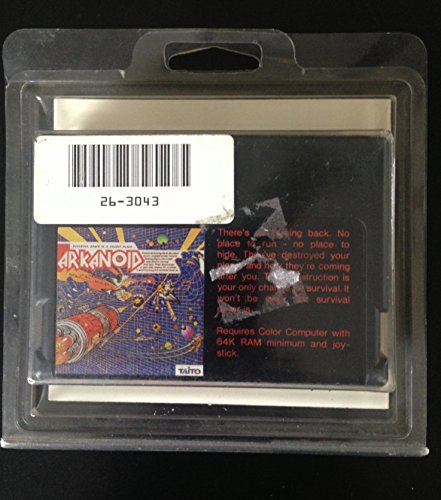 Arkanoid Cartridge for TRS-80 Color Computer