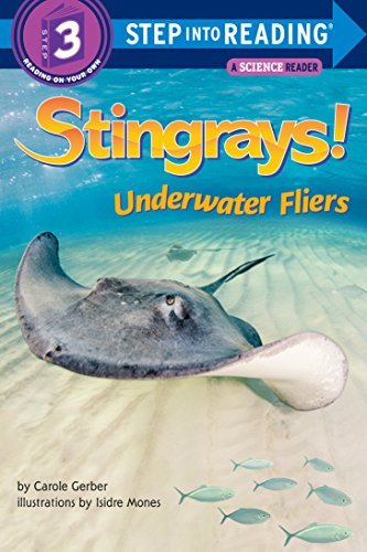 Stingrays Underwater Fliers Step Reading ebook product image