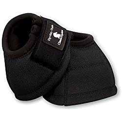 Classic Equine Dyno No-Turn Bell Boot - Coral Medium