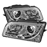 Spyder Auto Volvo S40 Chrome DRL LED Projector Headlight