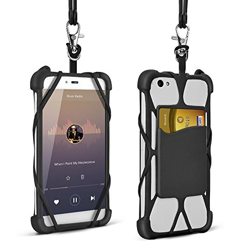 2-in-1-Phone-Lanyard-Universal-4-to-6-Silicone-Case-Detachable-Adjustable-Neck-Strap-for-iPhone-77-Plus66-Plus5Samsung-Note-4-5BLU-R1-HD-LG-HTC-Huawei