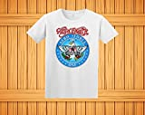 Wayne's World Garth Aerosmith T-shirt Halloween Costume White Shirt Toddler Youth Adult Lady Fitted sizes