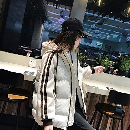 noir de service Manteaux de courte surdimensionnés beige bas pain le version porte blanc la veste la de vers de fourrure col coréenne nouvelle de BqOqc5SR