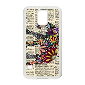 Custom New Cover Case for SamSung Galaxy S5 I9600, Indian Elephant Phone Case - HL-R644611
