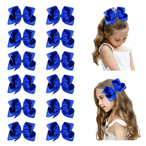 Top 10 best big blue hair bows for girls