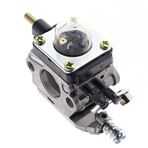 Carbhub C1U-K54A Carburetor for 2-Cycle Mantis 7222 7222E 7222M 7225 7230 7234 7240 7920 7924 Tiller / Cultivator Carb with Air Filter Repower Kit by Carbhub (Image #5)