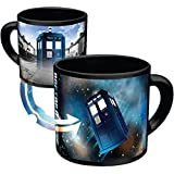Doctor Who - Disappearing TARDIS Coffee Mug - Add Hot Liquid and Watch The TARDIS Move From London to the Stars...