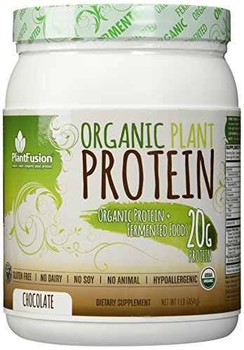 Plant Fusion Organic Plant Protein Supplement, Chocolate,...