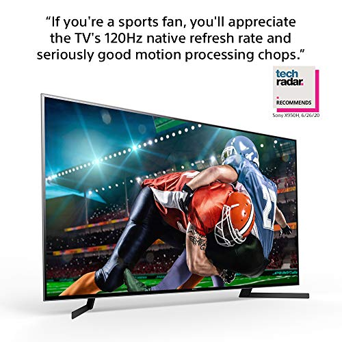 Sony X950H 85 Inch TV: 4K Ultra HD Smart LED TV with HDR and Alexa Compatibility - 2020 Model