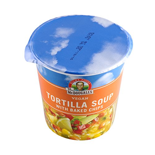 Dr. McDougall's Big Cup Soup Tortilla with Baked Chips -- 2 oz