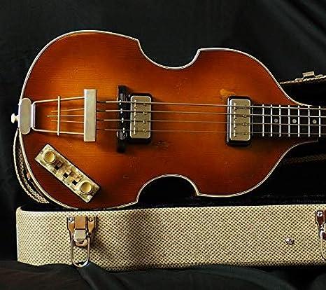 Höfner 500/1 Relic 63 - Bajo violin (incluye maletín): Amazon.es ...