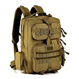 Protector Plus 30L Tactical MOLLE Assault Backpack Pack Military Gear Rucksack Large Waterproof Bag Sport Outdoor for Hunting Camping Trekking Cycling