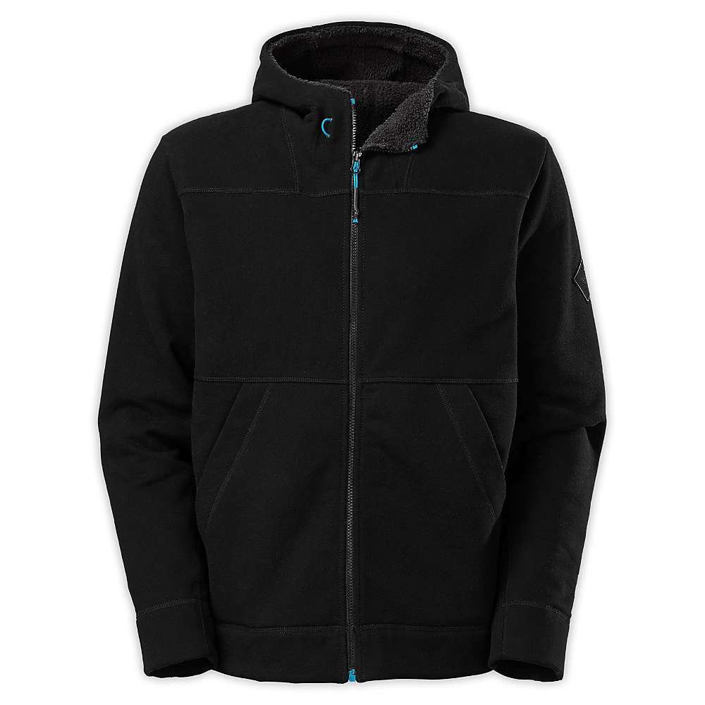The North Face M Ballistic Hoodie Zip Up TNF Black Mens S