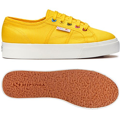 Cotw Colors Yellow Donna Hearts 2730 Sunflower Superga Sneaker H7f5wA8q