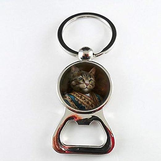 Abridor de botellas de gato Steampunk, joyería para gatos, abridor ...