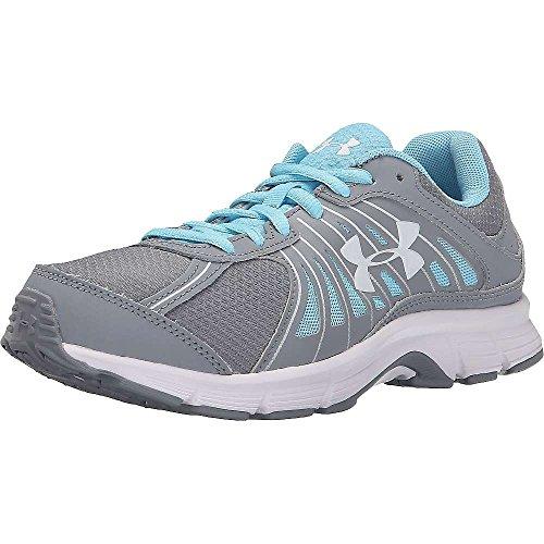 Under Armour Women's Dash RN Running Shoe Steel / Sky Blue / White cLieTUI