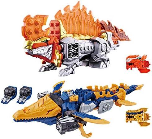 기사 용 편대 リュウソウジャ? 기사 용 시리즈 6 및 7 DX スピノサンダ?セット / Knight Dragon Squadron Ryusouja Knight Dragon Series 06 &07 DX Spino Thunder Set