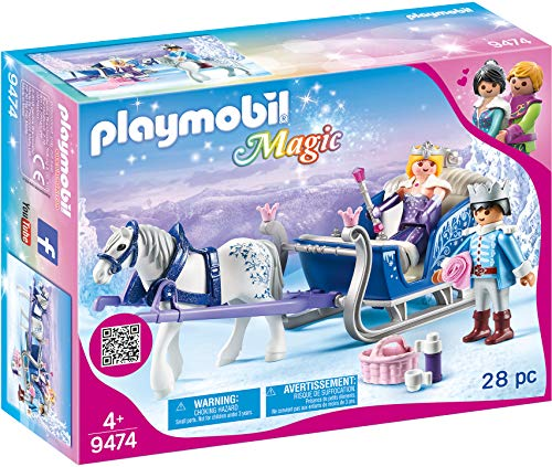 PLAYMOBIL Sleigh with Royal Couple Now $10.95 (Was $19.99)