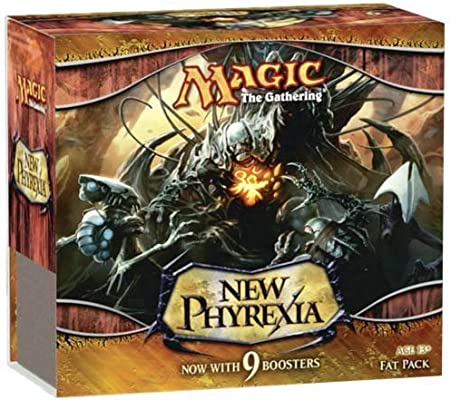 Magic New Phyrexia Fat Pack englisch [Importación alemana]: Amazon.es: Juguetes y juegos