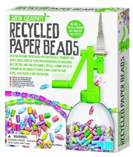 What to get a 9 year old for her birthday 2017 4M Recycled Paper Beads Kit