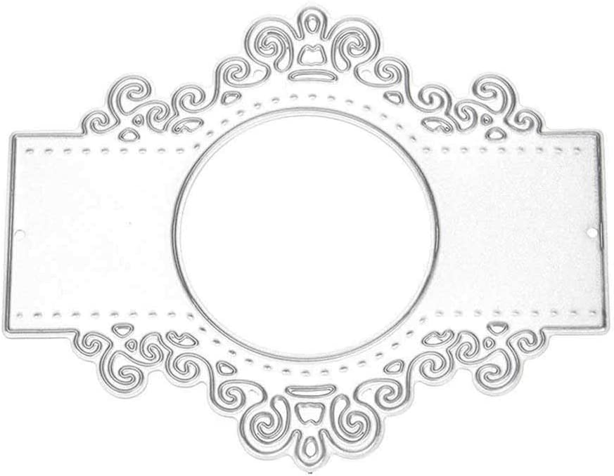 1X Lace Round Metal Cutting Dies Stencil Scrapbooking Card Paper Embossing Craft