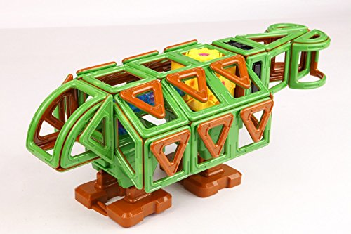 Magformers ''Walking Dinosaur Magnetic Toy (81-Piece) by Magformers (Image #1)