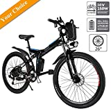 Best Electric Bikes - Aceshin 26'' Electric Mountain Bike with Removable Large Review
