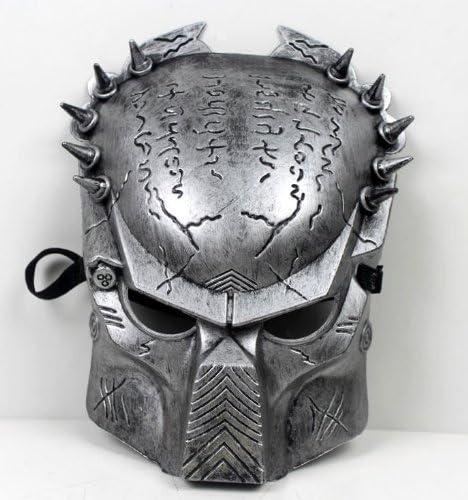 DLLL Alien Vs Predator: Predator Warrior película disfraz máscara ...